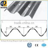 thrie beam steel safety guardrail for road with reasonable price,thrie beam crash barrier