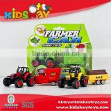 Alloy engineering car farmer car excavator bulldozer car model tractor toy