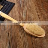 Wholesale Long handle wooden bristles bath body clean brush