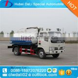 3000 Liters Dongfeng 4*2 fecal suction tank truck