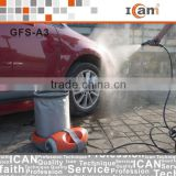 GFS-A3-mobile car cleaning equipment with 15L folding bucket