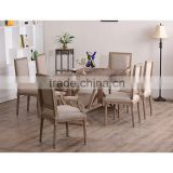 The most popularly style bamboo kitchen table and chair
