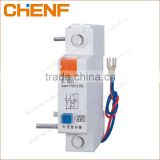 Hot sale DZ47-63 under-voltage tripper mini circuit breaker auxiliary switch air breaker switch