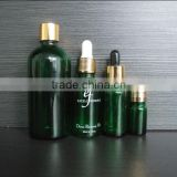 30ml green color e-liquid industrial use glass bottle with lid