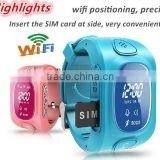 2016 ! gps tracker mobile watch phones GPS Navigation WiFi smart watch for kids