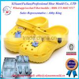 baby Eva Garden Shoes Mould with flower, Eva Garden Shoe once Injection Mould, bi-Color Eva Garden Shoes moulds Maker