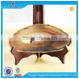 Precious agate slices wholesale coaster