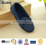2015 fashion men blue suede casual shoes