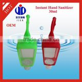 15 Years Factory Experience cute portable empty silicone hand sanitizer holder with PET bottle