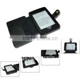 Black Booklet design Leather Cover Case for the Kindle Touch