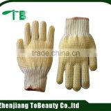 cotton knitted labor garden glove