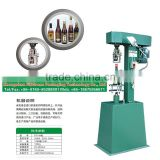 Semi-automatic aluminum cap pilfer proof cap capping machine glass bottle capper machine cap sealing machine for security