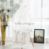 Contemporary style ready made sheer curtains imported from China customized window curtains