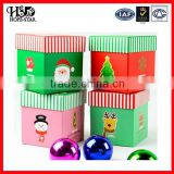 Beautiful christmas candy box wholesales with factory price