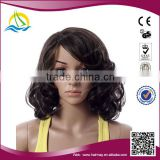 New fashion style Heat Resistant Fibre synthetic micro braids afro wig