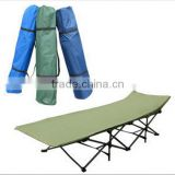 wholesale Folding military camping bed, Aluminum folding camping bed/ folding beach chair/deck chair/sun lounger