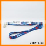 Customizing Polyester Metal Button Mobile Phone Strap The Exhibition Hang Rope With Pattern Word ZTHZ-1123