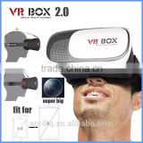 Hot selling High Quality Real Virtual Google Cardboard Virtual Reality VR Box 3D Glasses with removed