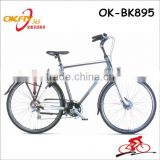 Factory price bicycle 28 inch 24 speed alloy lady leisure city bike for sale