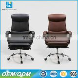China wholesale Modern Boss reclining office chair with footrest