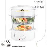 Portable food steamer