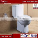 toilet factory can oem brand, gold dragon brand toilet in Ethiopia, two piece ceramic wc toilet
