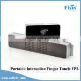 Portable Finger touch FP3 Interactive White board for classrooms easy calibration white digital board for school