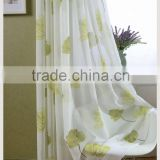 Luxury 100% polyester curtain printed finished turkish curtain fabric