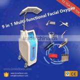 Portable Facial Machine Professional Beauty Salon 6 In 1 Vacuum Machine For Wrinkle Removal Blackheads Oxygen Jet Peel/microcurrent Facial Massage Beauty Clinic Device
