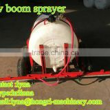 Trailed agricultural atv boom sprayer