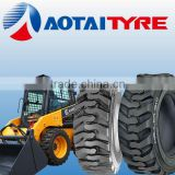 wheel loader new non-marking rubber industrial solid skid steer loader tires 10-16.5 12-16.5 solid tire