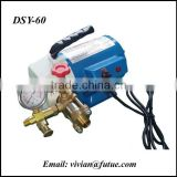 250W 0-60Bar Electric Hydro Pressure Test Pump