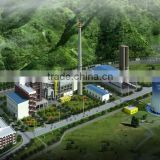 HFO and Lube oil fired power plant
