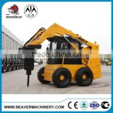 China Bobcat Skid Steer Loader, Mini Wheel Skid Steer WS65, 65hp, with Rated Load 870 kgs