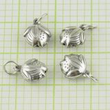 925 Solid Sterling Silver Beads Skate Charm Fashion 12 * 10mm
