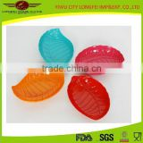 Dinnerware Melamine Leaf Food Serving Plate / melamine fruit plate