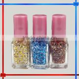 305 upscale small square nail polish snowflake sequined
