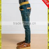 Studded skinny children jeans boys fashion more popular Denim jeans trouser washed woloesaler kids clothing
