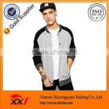 new design pakistan clothing men jackets custom fashion winter jacket raglan sleeve button up baseball jacket