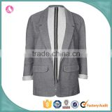 Latest design lady blazer boy friend jacket women