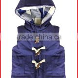 Little Boys Winter Jacket 100% Cotton Without Sleeves For Outer Wear