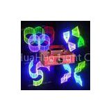 110V 50 / 60HZ 500mW green disco laser lighting for party, homes with Micro step motor