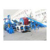 Waste Tire Shredding Machine / Crumb Rubber Machinery Harden Gears Gearbox