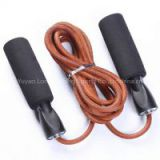 Leather Skipping Rope home fitness equipment Adjustable Fitness Workout Jumping boxing jump ropes