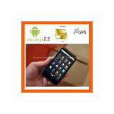 4.3 inch android 2.2 smart mobile phone with 2 sim gps wifi
