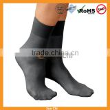 custom wholesale socks manufacturer mens womens black and purple quality cotton sport anklet crew socks