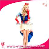 Adult Snow White Sexy Cosplay Fantasia Halloween Costumes For Women Princess Dress Fancy party dress