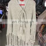 wholesale women fashion knit fabric sweater lovely pure pullover peruvian alpaca wool poncho