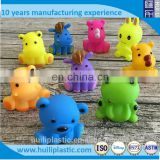3d vinyl animal bath toys, vinyl non-toxic pvc squirt bath toys, squeaky bath toys for babies