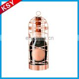 Fashionable Design Excellent Quality Tall Metal Bottle Holders Novelty Wine Rack For Sale
